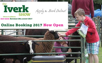 Online Booking 2017 Now Open!